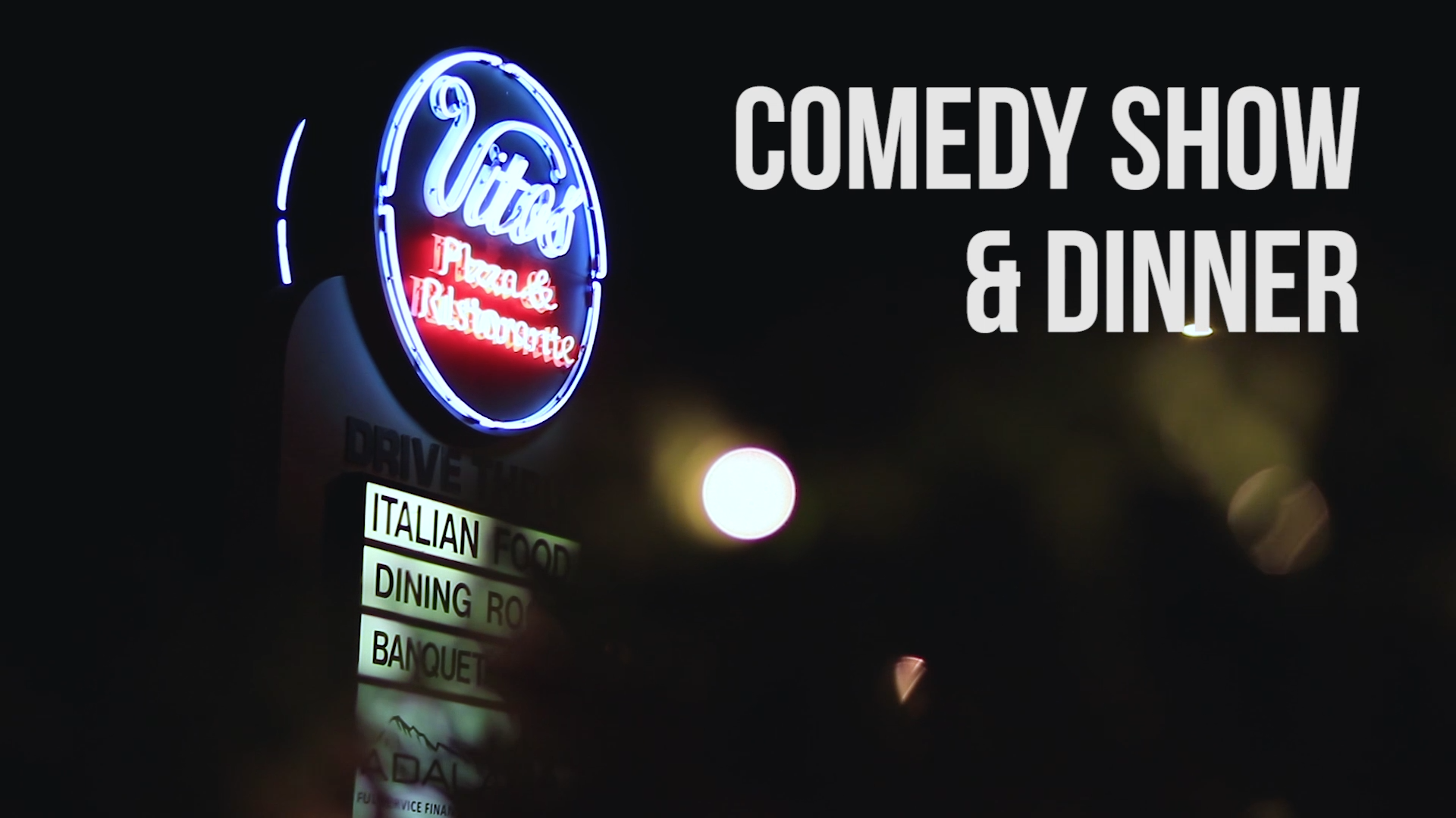 July 27th Comedy Show & Dinner
