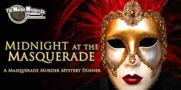 October Midnight at the Masquerade Murder Mystery Show