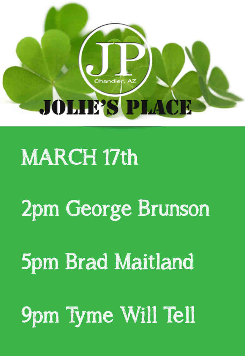 LIVE MUSIC St Patricks Day